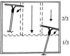Lavage de vitre a la francaise